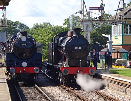 Camelot and Q at Horsted Keynes - John Sandys - 29 August 2019