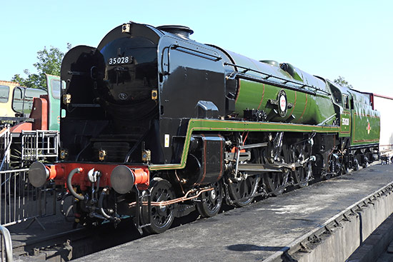 35028 at Sheffield Park - Robert Mitcheell - 25 August 2019