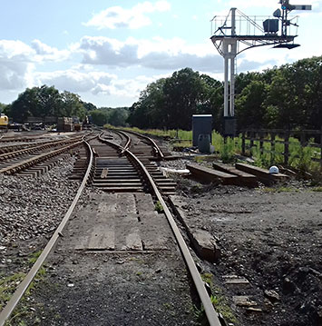 Trackwork at Horsted Keynes - Bruce Healey - 20 August 2019