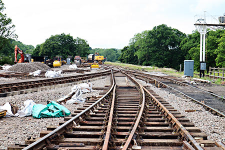 Pointwork in Horsted Keynes yard - Barry Luck - 25 June 2019