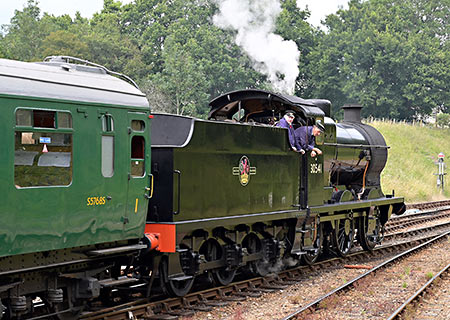 Q-class at Horsted Keynes - Brian Lacey - 3 August 2019