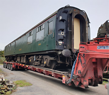 RMB No. 1838 arriving at Cranmore -  Phil Hamerton - 29 October 2019