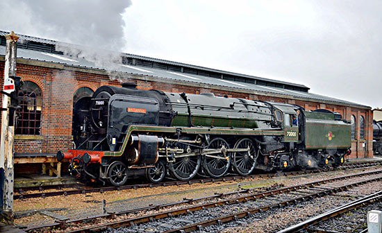 70000 Britannia at Sheffield Park - David Long - 7 October 2019