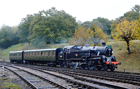80151 enters Horsted Keynes - Andrew Crampton - 11 October 2019