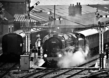 'Britannia' departs from Horsted Keynes - Julian Clark - 11 October 2019