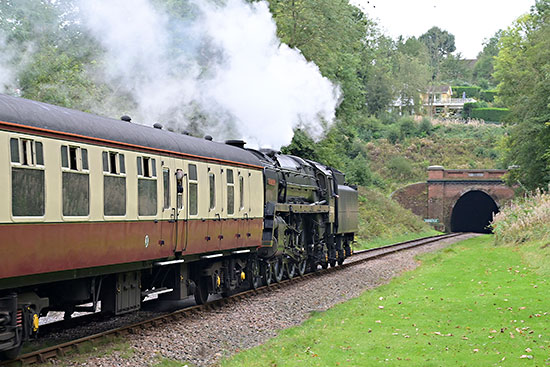 70000 Britannia at West Hoathly - Brian Lacey - 7 October 2019