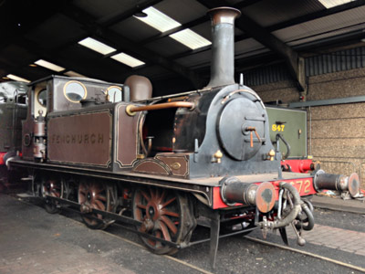 'Fenchurch' minus its boiler - Richard Salmon - 18 December 2019