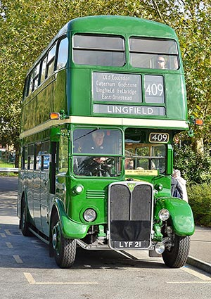 AEC Regent III RT 2083 - David Long - 6 October 2019