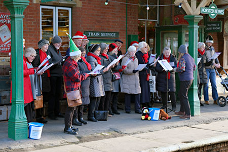 Scaynes Hill Community Choir at Horsted Keynes - Brian Lacey - 14 December 2019