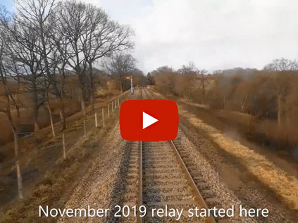 Video of track north of Horsted - Jon Goff - February 2020