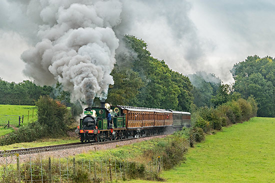 178 with the H-class on the Pioneer - David Cable - 3 October 2020