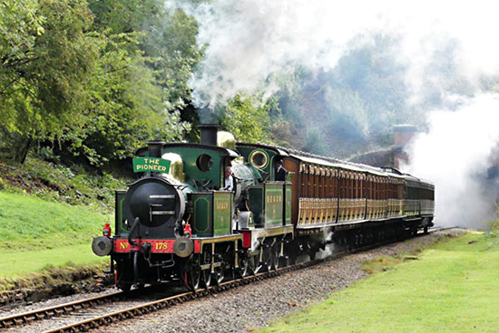 178 with the H-class on the Pioneer at West Hoathly - Keith Duke - 3 October 2020