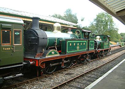 263 and 178 at Kingscote - David Chappell - 3 October 2020