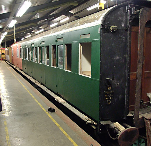 Maunsell 3687 in the Carriage Works - Richard Salmon - 18 March 2020