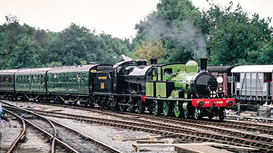 488 and 541 at Horsted Keynes - Nigel Sealey - 25 September 1988