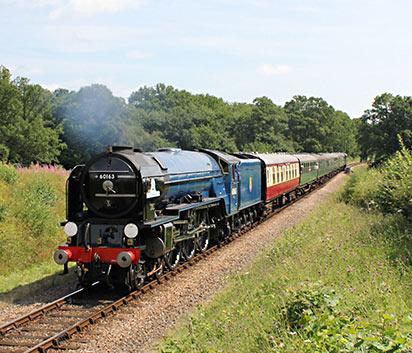 'Tornado' at Holywell - Peter Edwards - 31 July 2014
