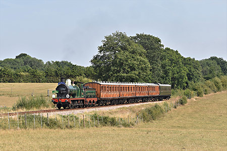65 with The Pioneer on Freshfield Bank - Nick Martin - 9 August 2020