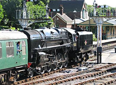 92212 at Horsted Keynes - Nigel Sealey - 4 August 2013