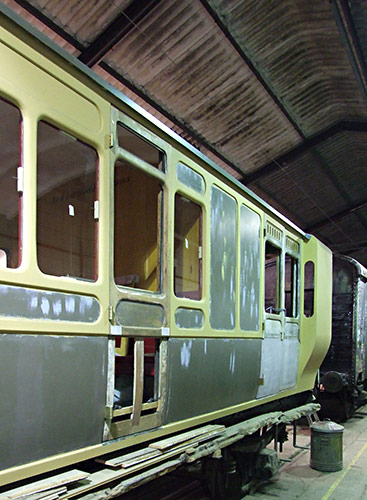 Stroudley 949 in the Carriage Works - Richard Salmon - 5 January 2020