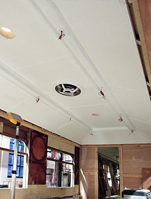 Pullman Car 54 ceiling - Richard Salmon - 18 March 2020