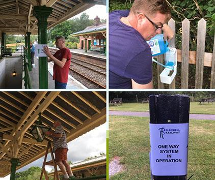 Preparing Kingscote for reopening - Mark Baker - 25 July 2020
