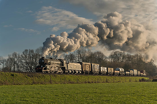 S15 on a goods train photo charter - David Cable - 8 December 2020