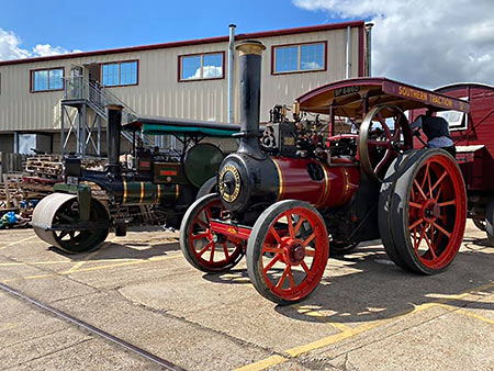 Marshall traction engine Jess at Sheffield Park - Reuben Smith - 6 September 2020