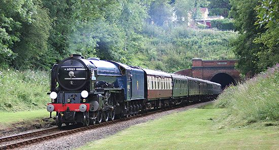 Tornado at West Hoathly station site - Nigel Sealey - 28 July 2014
