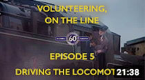 Volunteering 5: Driving the Locomotive