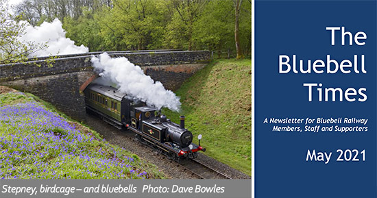 May 2021 edition of Bluebell Times