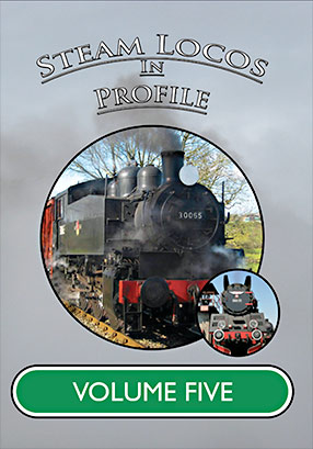 Volume 5 of the Steam Locos In Profile - supporting the Bluebell's Wagon Fleet
