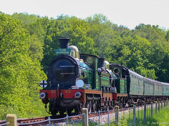 SECR locos north of Horsted Keynes - Jack Lamb - 31 May 2021