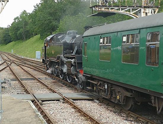 80151 at Horsted Keynes - John Sandys - 14 July 2021