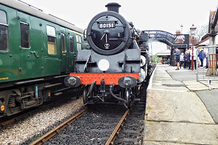 80151 at Sheffield Park Station - John Sandys - 24 May 2021