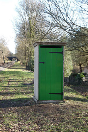 Fogman's hut south of Kingscote - Les Haines - February 2021