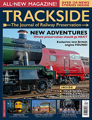 Trackside Magazine - launch issue, cover