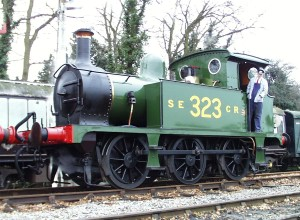 323 at Sheffield Park in SECR wartime economy livery - Lewis Nodes