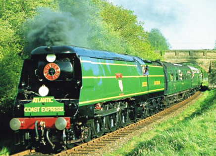 SR Bulleid Pacific Blackmoor Vale - Mike Esau