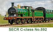 SECR C-class No.592