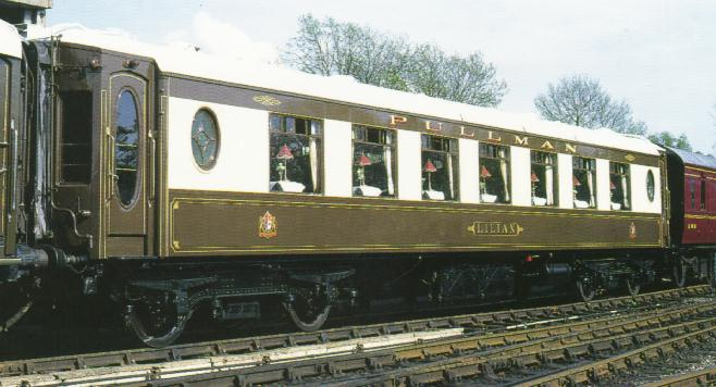 Bluebell Railway Carriages Pullman Car 76 Lilian