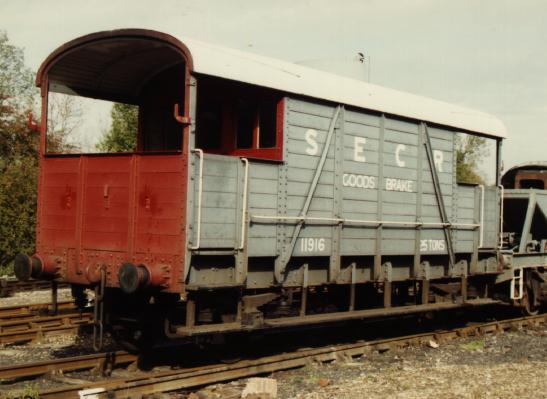 Bluebell Railway Wagons