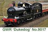 GWR Dukedog No.9017