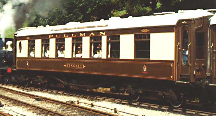 Bluebell Railway Carriages Pullman Car Fingall