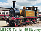 LBSCR A1X Terrier No.55 'Stepney'