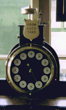 Walker's instrument in Signal Box - Peter Richards