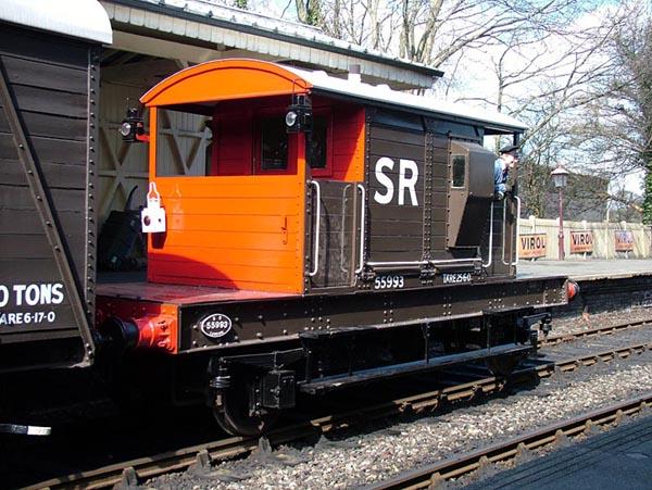 Caboose o Furgón de Cola - Cuidando los trenes